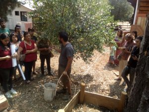 Taller de Lombricultura, San Fabian 2020