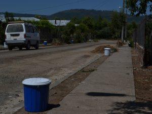 Retiro diferenciado d emateria orgánica en Villa Alico, San Fabián