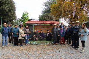 Visita al Centro de Semillas CONAF en Chillán