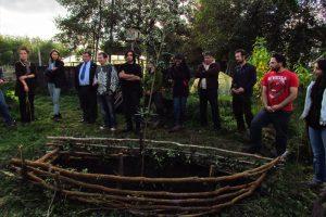 Ceremonia Proyecto El Bosque en Nuestras Manos